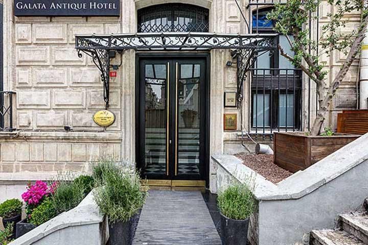 هتل گالاتا آنتیک، یکی از بهترین هتل های استانبول