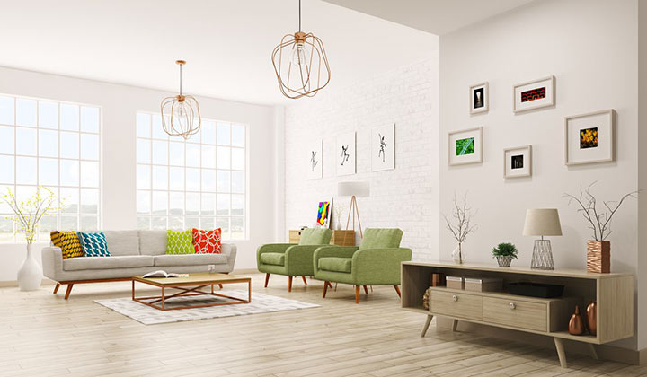 افزایش نور برای تسریع فروش خانه