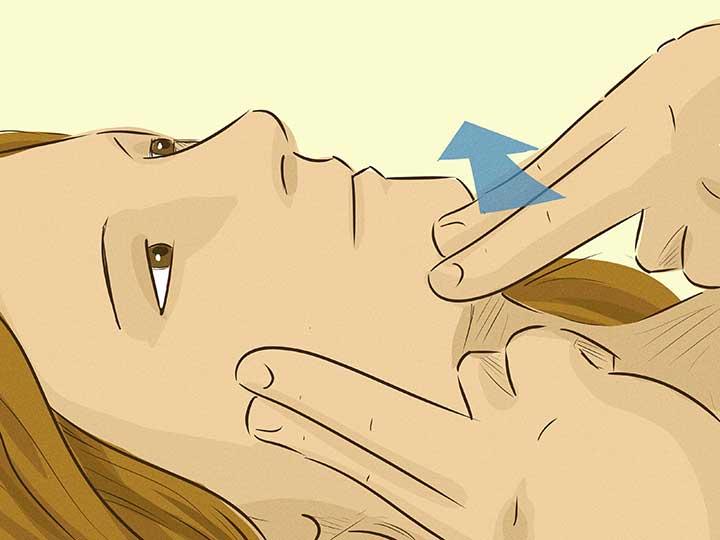 درمان سردرد با ماساژ و ورزش ماهیچههای گیجگاهی