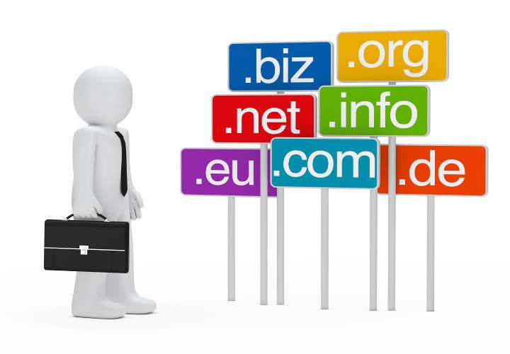انتخاب اسم دامنه به هنگام راه اندازی سایت