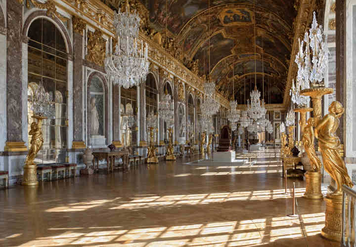 Hall of Mirrors Palace of Versailles