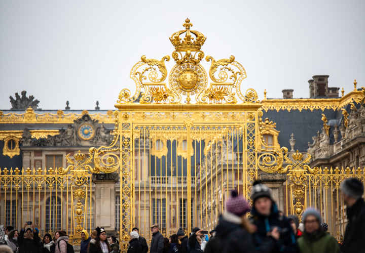 The Golden Gate of the Palace of Versailles