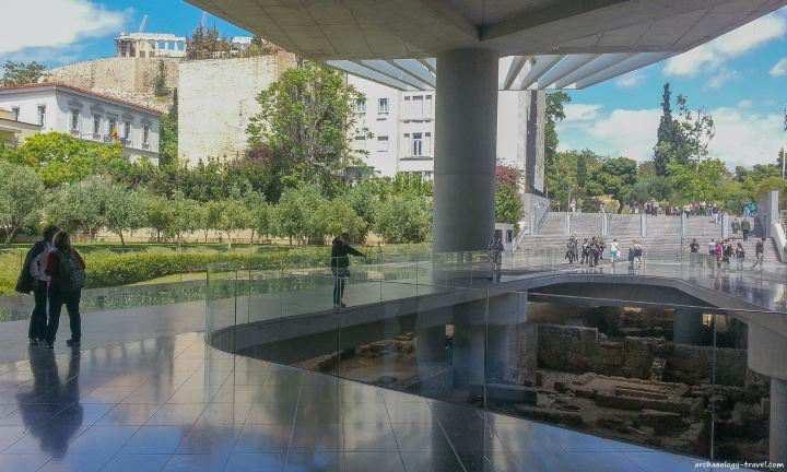 معروف ترین موزه های جهان - موزه آکروپولیس در آتن