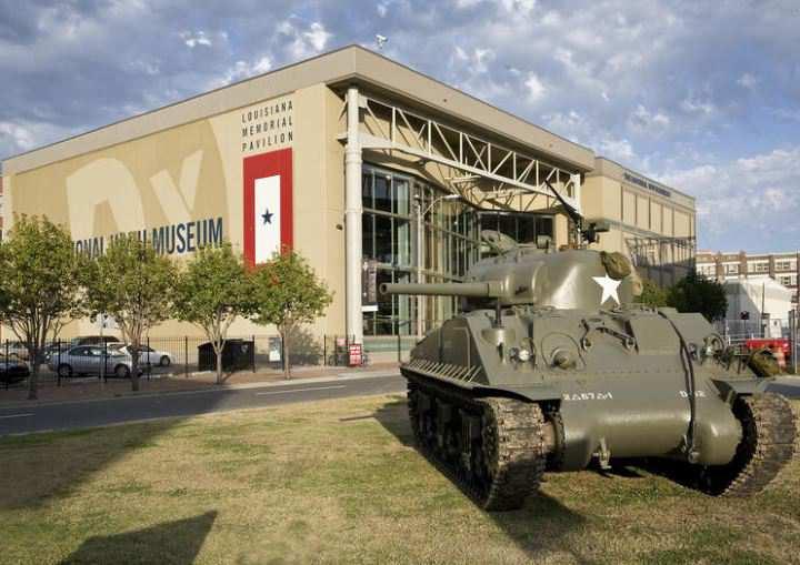 معروف ترین موزه های جهان - موزه ملی جنگ جهانی دوم