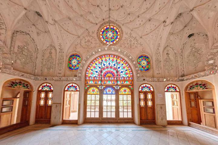 هتل سنتی عامری ها - جاهای دیدنی کاشان