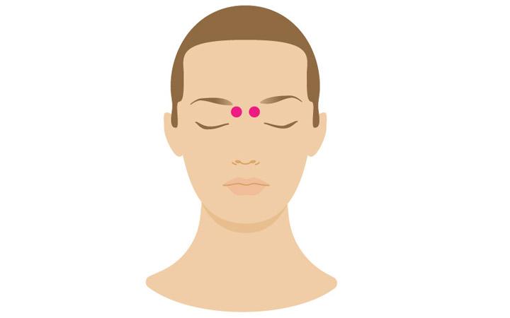 خیزران حفاری - نقطه فشار - درمان سردرد با ماساژ