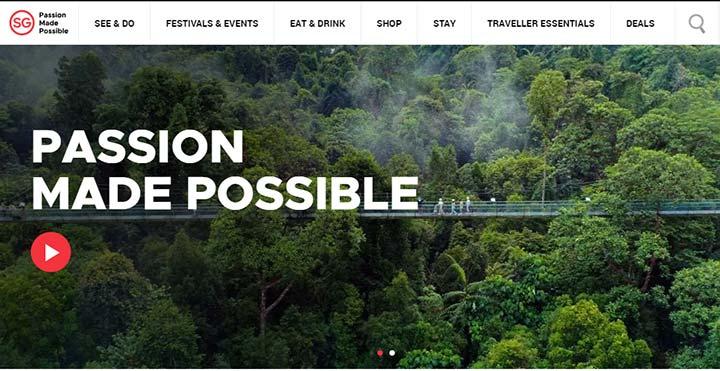 ویزای سنگاپور - سایت رسمی گردشگری سنگاپور