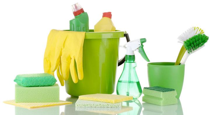 مواد و ابزار لازم برای خانه تکانی عید
