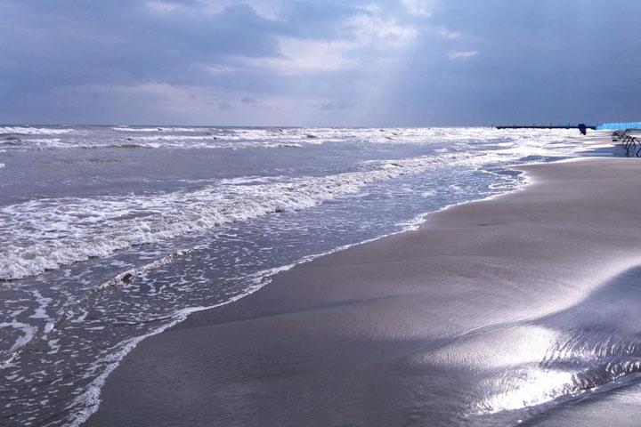 جاهای دیدنی تالش - ساحل گیسوم