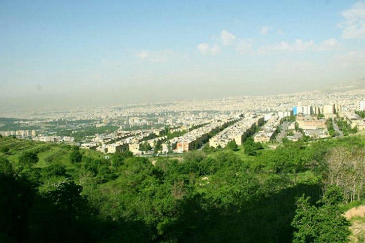 سوهانک - پارک های جنگلی تهران