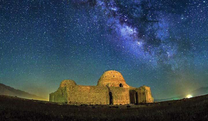 کاخ ساسانی سروستان | فارس