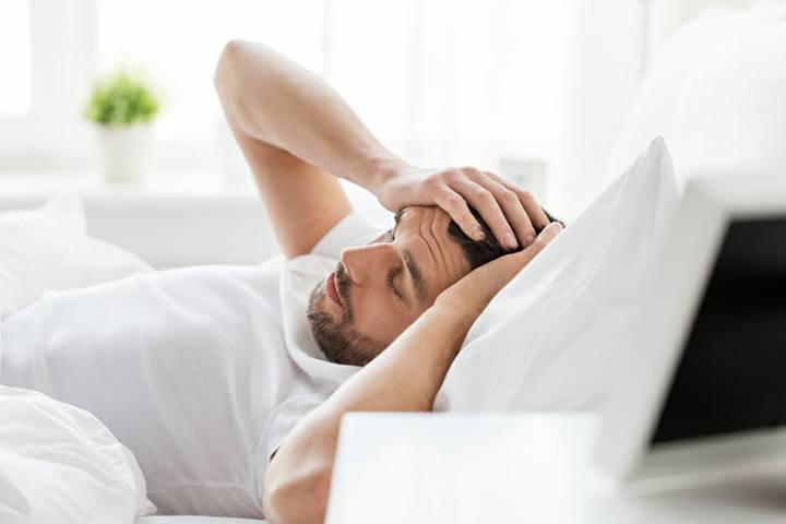 سردرد صبحگاهی - مشکلات خواب