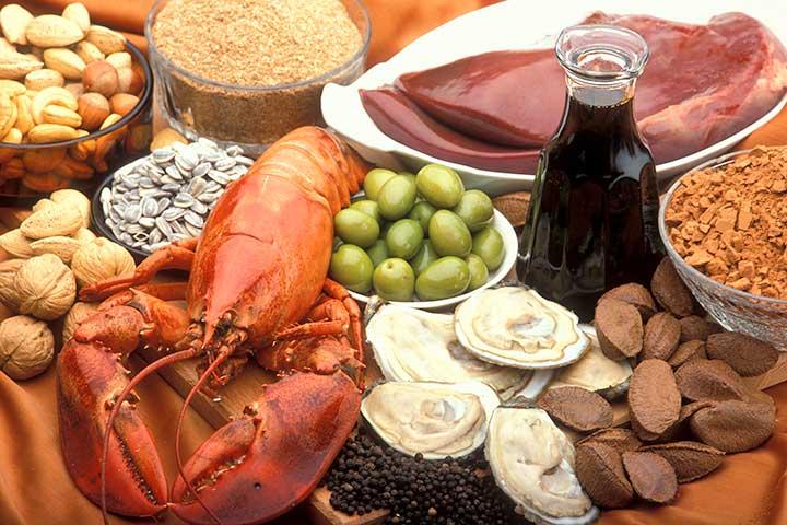 خوراکیهایی برای رفع کمبود مس در بدن