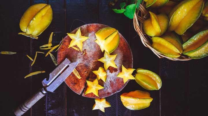میوه های استوایی - میوه ستاره ای