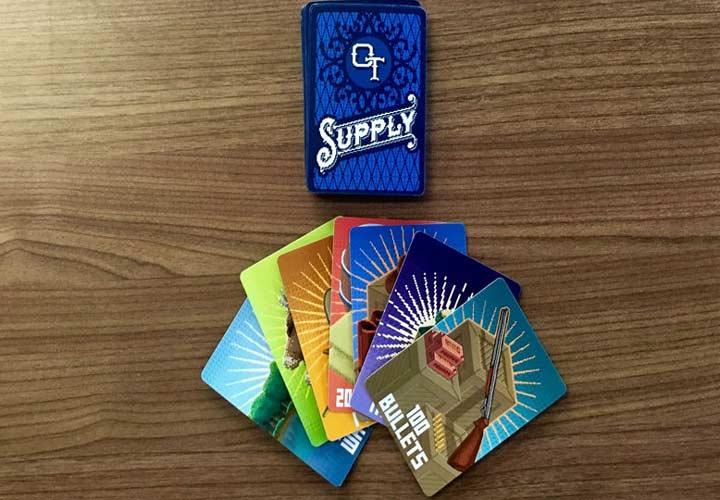 انواع بازی فکری - بازی با کارت