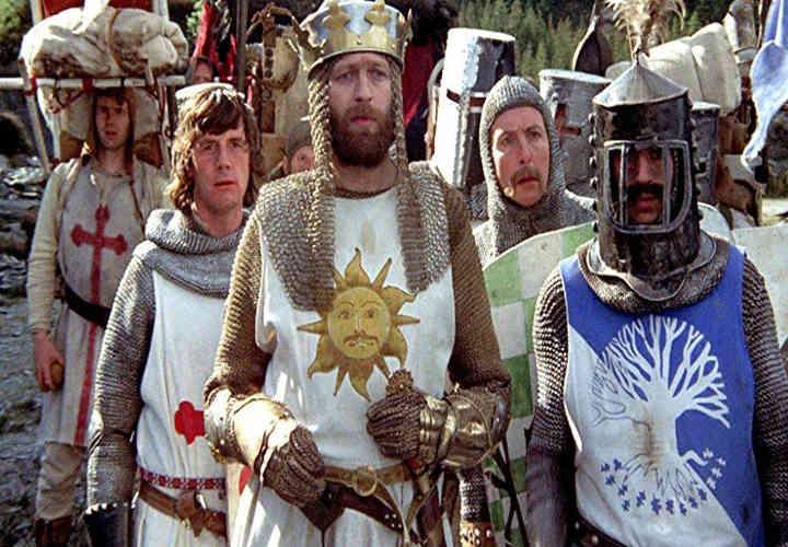 مانتی پیتون و جام مقدس - بهترین فیلم های کمدی