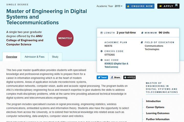 کارشناسی ارشد - تحصیل مهندسی در استرالیا