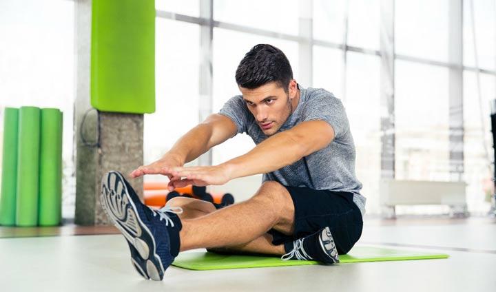 از بین رفتن چاقی شکم با ورزش