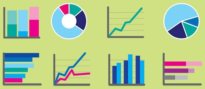 استفاده از نمودارها و دادهها در سخنرانی