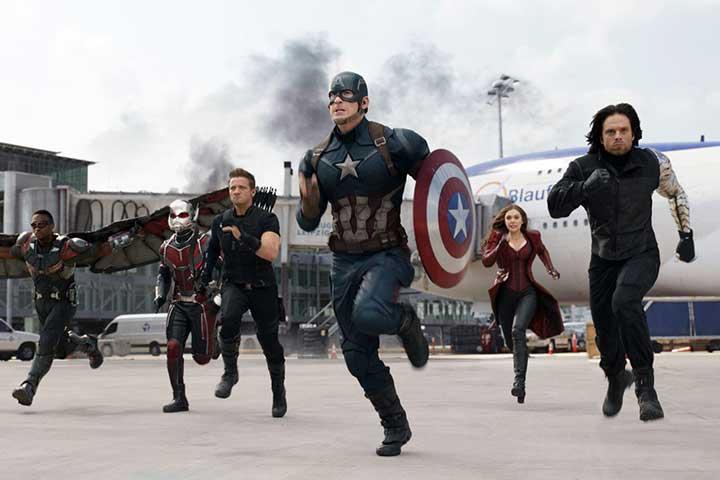 کاپیتان آمریکا: جنگ داخلی، از بهترین فیلم های اکشن