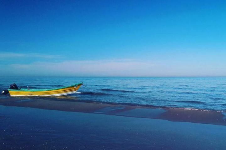 ساحل متل قو از سواحل مازندران - عکس از علیرضا احمدی