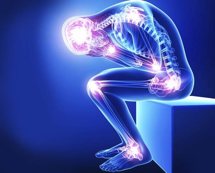 بیماری فیبرومیالژیا - نقاط حساس