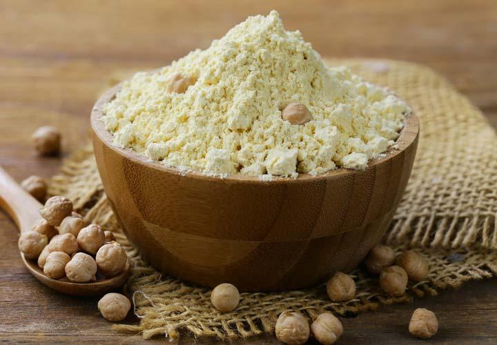 خواص آرد نخود و طرز تهیه آن - آرد نخود را می توان به راحتی و با تجهیزات کم در خانه درست کرد.