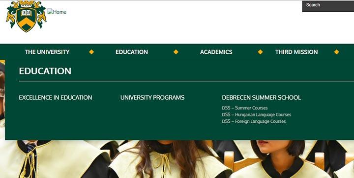 تحصیل پزشکی در مجارستان 2019 - جزئیات سایت دانشگاه دبرسن