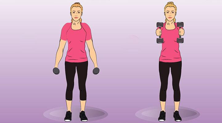 حرکت v - فرم دهی بازو