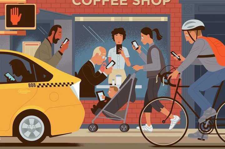 فاصله گرفتن از دنیای مجازی برای اینکه در شلوغی های زندگی غرق نشویم