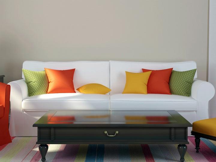 استفاده از وسایل دکوری برای ایجاد حسی متفاوت - استفاده از رنگ ها در دکوراسیون خانه