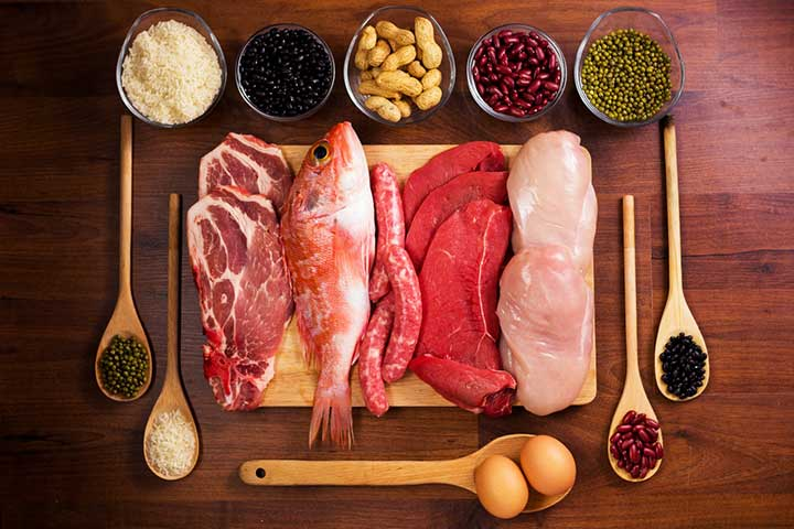 مصرف مواد گوشتی و غیرگوشتی