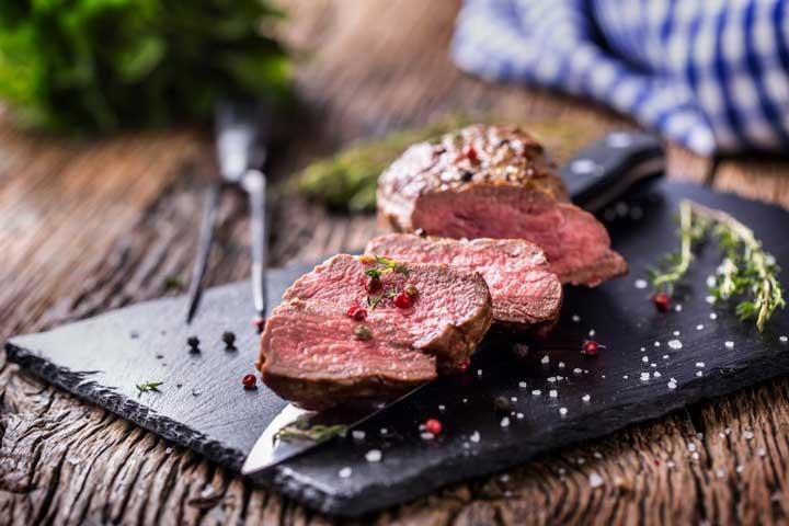 گوشت استیک