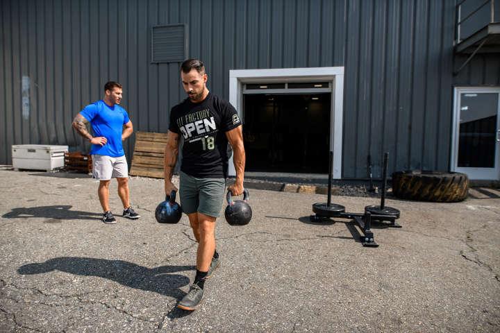 راه رفتن با وزنه-تمرین هوازی