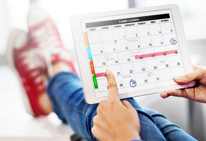 برنامه های مدیریت تقویم برای بهینه کردن و مدیریت برنامه زمانی