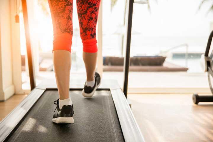 ورزش با تردمیل - دویدن روی تردمیل
