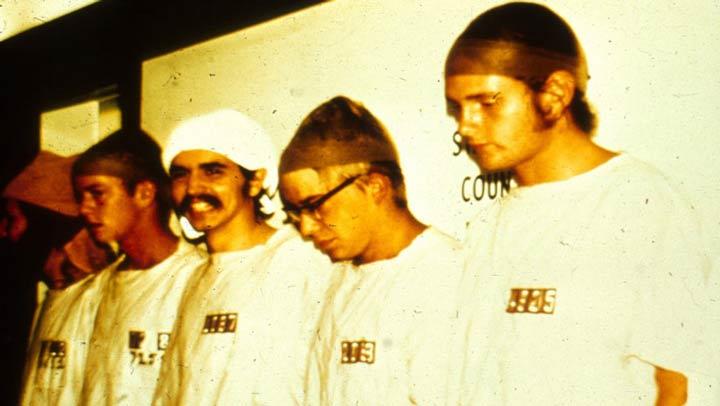 آزمایش زندان استنفورد، دستگیری