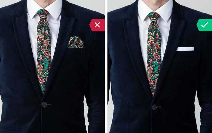 هماهنگی لباس - اشتباه رایج در نحوه لباس پوشیدن مردان