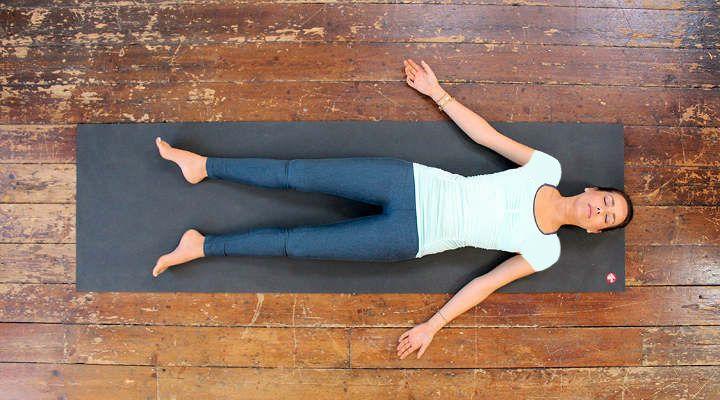 حرکت جسد - حرکات یوگا برای کاهش استرس
