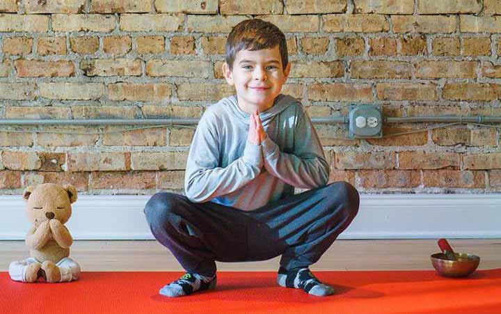 12 نوع ورزش جذاب برای کودکان - 11. وضعیت قورباغه