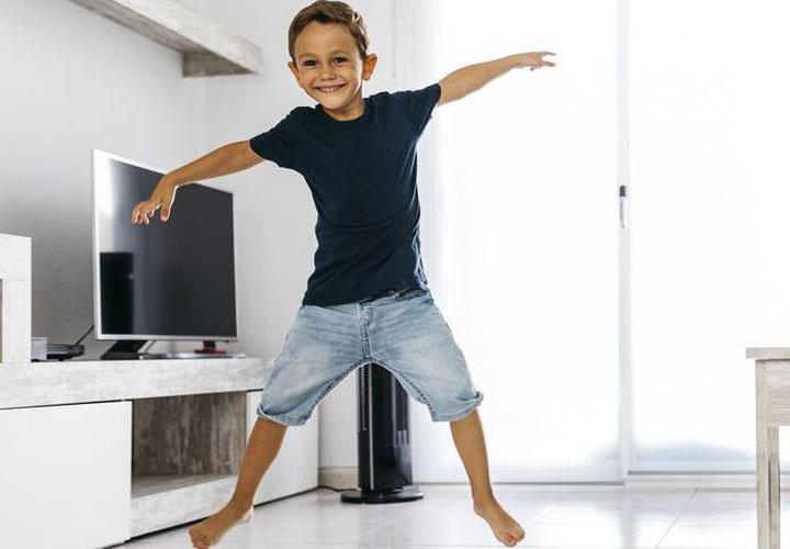12 نوع ورزش جذاب برای کودکان - 7. ستارۀ دریایی