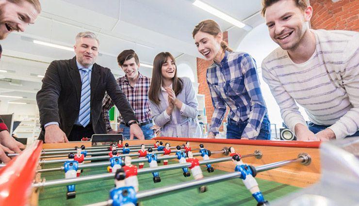 چرا باید زمانی را به بازی کردن در محیط کار اختصاص دهیم؟