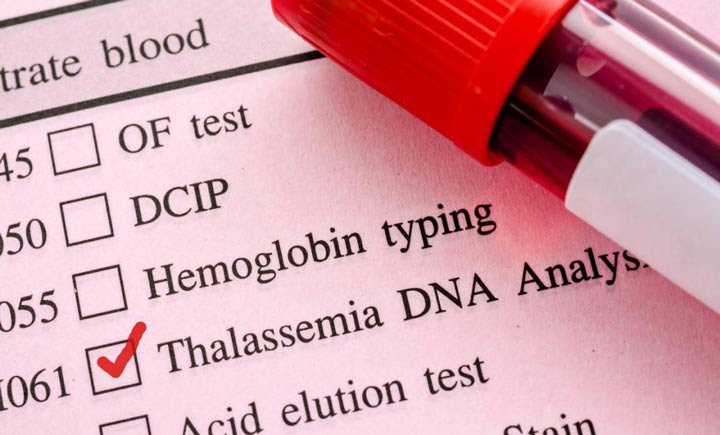 تالاسمی، اختلال ژنتیکی