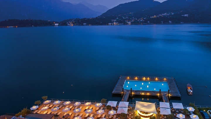Grand Hotel Tremesu - one of the most beautiful swimming pools in the world
