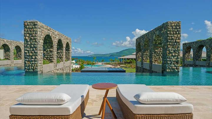پارک هیات سنت کیتز-زیباترین استخرهای هتل ها در دنیا