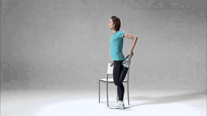 حرکت کششی چهارسر-حرکت کششی زانو