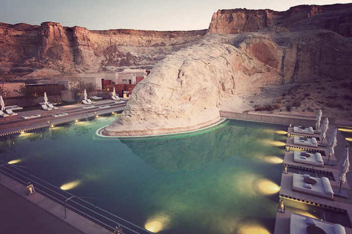 Amangiri - one of the most beautiful pools in the world