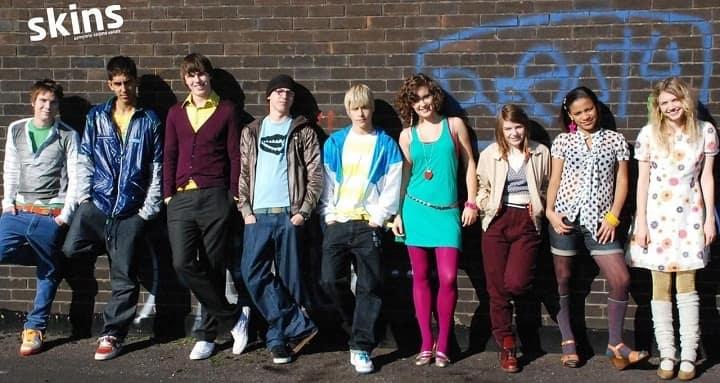اسکینز یکی از بهترین سریالهای ساخت انگلیس