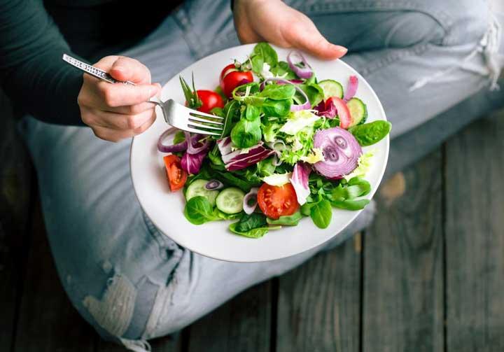 سبزیجات یک وعده غذای سالم برای کودکان