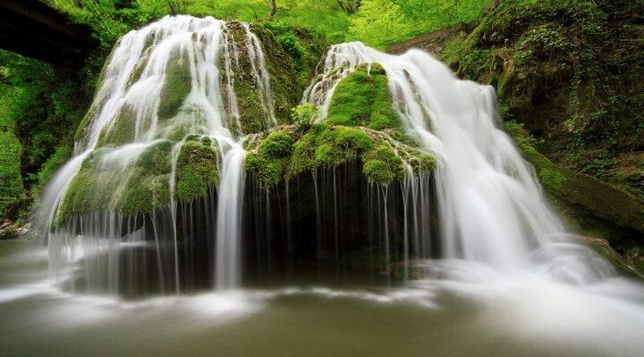 آبشار بیگار در رومانی